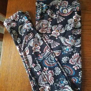 LuLaRoe Pants - Cute Aztec LuLaRoe Print