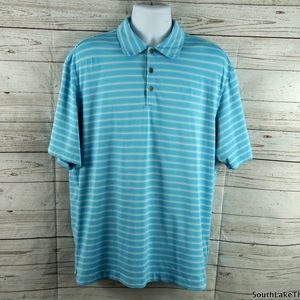 Nike Other - Nike Fit Dry Light Blue Performance Golf Polo