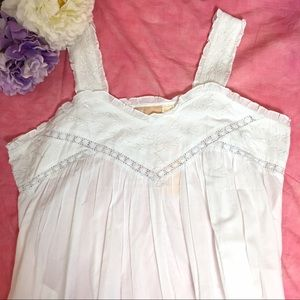 La Cera Other - NWT LA CERA SLEEVELESS 100% COTTON NIGHTGOWN 1X