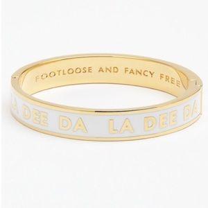 Kate Spade♠️ Footloose & Fancy Free Idiom Bracelet