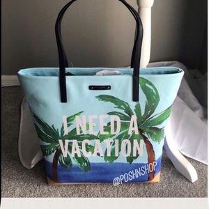 kate spade Handbags - Kate Spade talk the talk shopper/tote/beach bagNWT