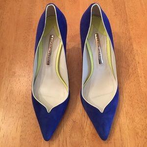 Sophia Webster Shoes - Sophia Webster Bi-Colored Pointed Toe Pumps