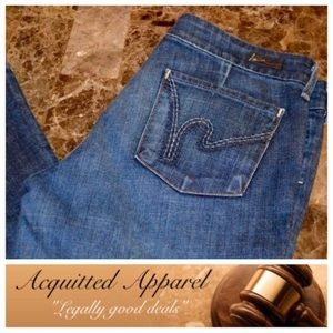 Citizens of Humanity Denim - [Citizens of Humanity] Flare Jeans Petite 28inseam