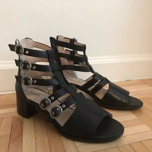 Shellys London 'Bea' Buckle Sandal