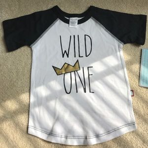 City Threads Other - WILD ONE Where the Wild Things Are Raglan Shirt