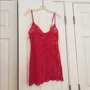Victoria's Secret Other - Red lace nightie