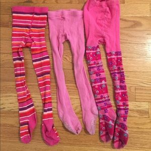 Children's Place Other - Bundle of 3T Warm Tights