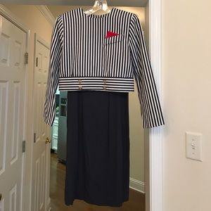 Jessica Howard Dresses & Skirts - Blue and white dress.