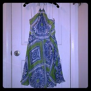 Vineyard Vines Scarf Print Dress