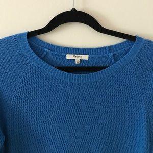 Madewell Blue Ocean Sweater