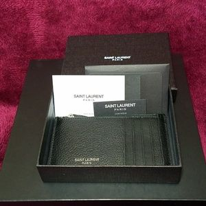 Yves Saint Laurent Other - Yves Saint Laurent 5 Fragments Card Case
