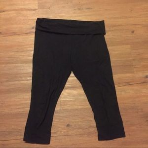 Black Yoga/workout Capris