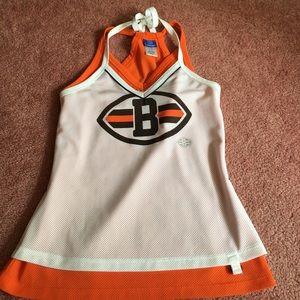 Original NFL Cleveland Browns fitted halter jersey