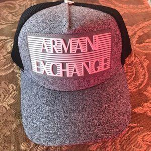 A/X Armani Exchange Other - A/X Armani Exchange Heather Grey Mesh hat !