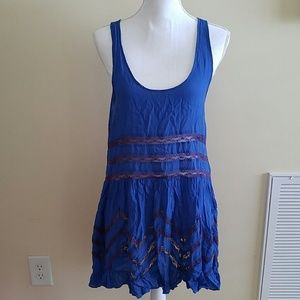 Free people intimately voile trapeze size M EUC
