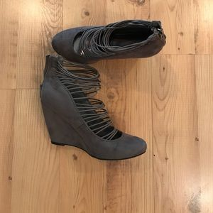 Nine West Shoes - Nine West Suede Wedge Shoes