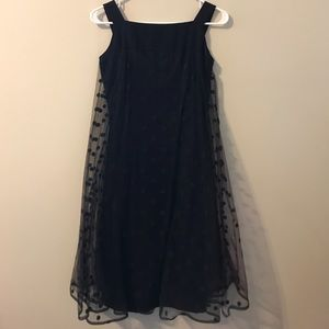 Vintage Black Party Dress 