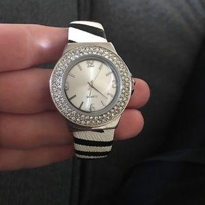 Jewelry - Zebra Quartz Watch (worn a couple times)