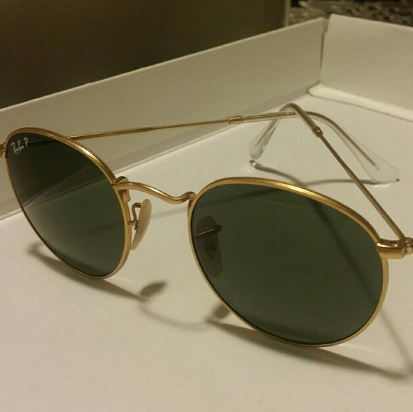 5ce0bbed617 Ray Ban RB3447 112-58 50mm round metal gold frame.  M 59060c1698182928e100a338