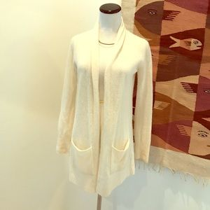 White + Warren Sweaters - White and Warren cashmere cardigan XS