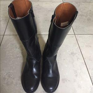 Zara Other - Girls Zara Leather boots Size 29 Black