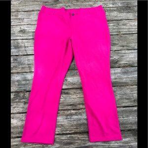 Pink stretchy soft pants - Lane Bryant size 26