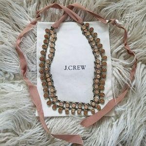J. Crew Jewelry - Classic J Crew Crystal Ribbon Necklace