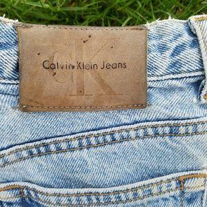 Calvin Klein Jeans Pants - Vintage Calvin Klein high waisted cutoffs