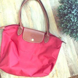 Longchamp Handbags - Small Red Longchamp