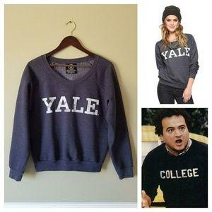Recycled Karma Tops - {Recycled Karma} Cozy YALE Sweatshirt