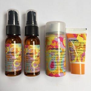 Sephora Other - 4 pc NWT Amika mini hair product bundle