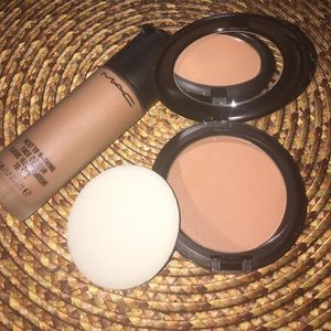 MAC Cosmetics Other - Mac Dark deep Foundation and Powder