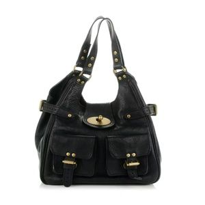 Mulberry Handbags - Mulberry calfskin Annie bag in black