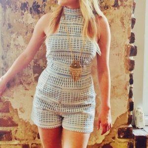 Fab'rik Pants - Adorable Lace Romper for Summer!