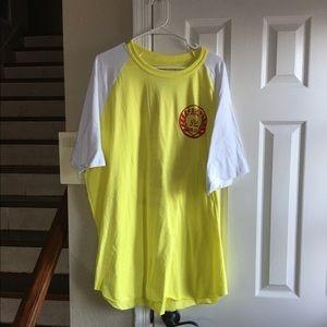 Yellow/white 3x men's tee shirt
