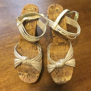 Jessica Simpson Cork Sandals