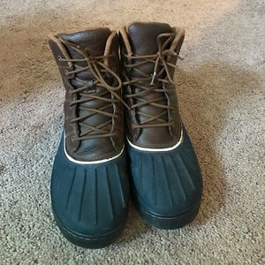 Nike Other - Nike ACG Winter Boots Brown/Navy