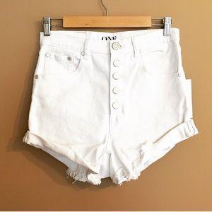 One Teaspoon Pants - One Teaspoon White Lovers