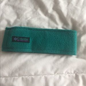 teal columbia headband