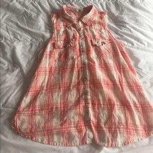 Maurices Tops - cute plaid maurice's tank top size L