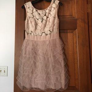 BCBG generation tutu dress with sheer lace