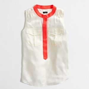 J. Crew Factory Tops - SUPER CUTE j crew factory sleeveless top size 12