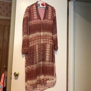 Zara Tribal Print Dress