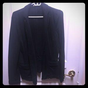 J.Crew weekend black sweater jacket large