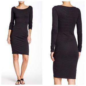 Michael Stars Dresses & Skirts - ➡Michael Stars Long Sleeve Ruched Dress⬅