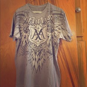 Affliction Other - Men's large affliction tee shirt