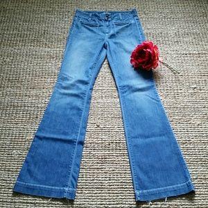 Anlo Denim - Anlo Medium Blue Wide Leg Jean