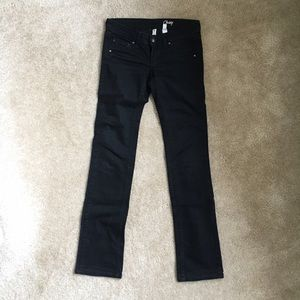 Mango Denim - Mango's Women's Black Boot Cut Jeans