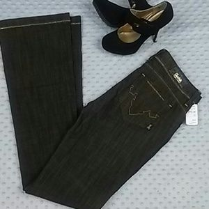 antik denim Denim - Antik Denim Brown Gold Jeans size 29 NWT