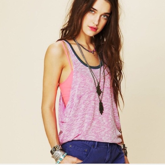 cbcbed0f61c1 Free People Tops - 🎉Free People Venice Vibes Knit Tank🎉